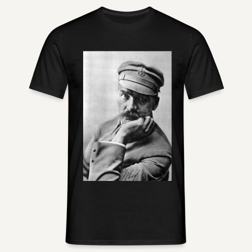 Pilsudski duży 2 - Koszulka męska