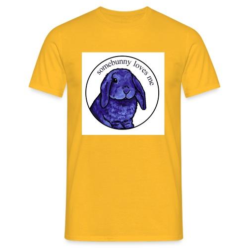 Somebunny Loves Me - Men's T-Shirt