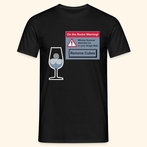 Ice Warning - Männer T-Shirt