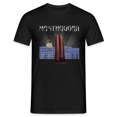 Masthuggah master, kyrka och terass - T-shirt herr