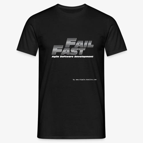 fail fast gif - Men's T-Shirt