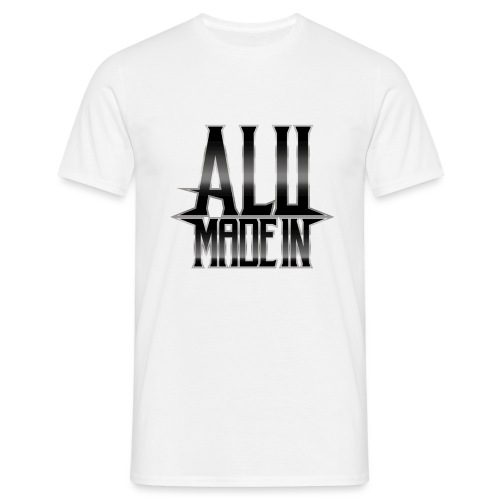 LOGO ALU MADE IN - T-shirt Homme