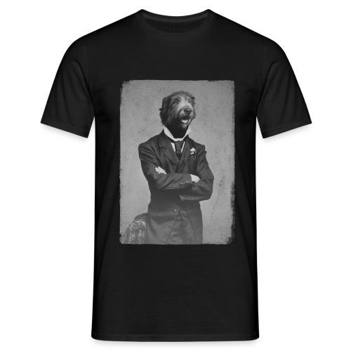 Gentleman wolfhound - T-shirt Homme