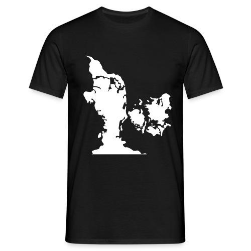 jyllandvendersjaellandryggen - Herre-T-shirt