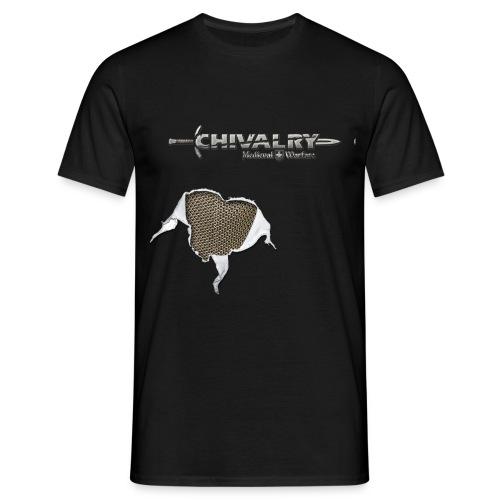 chivalry logos shaded - Men's T-Shirt