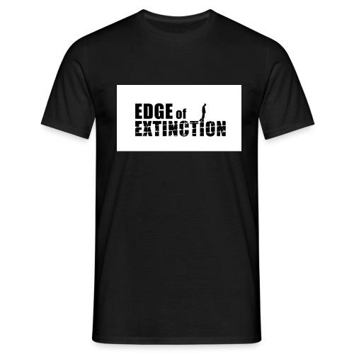 EoE logo BW jpg - Men's T-Shirt