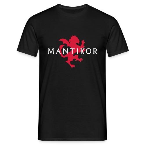 mantikor emblem2c - Männer T-Shirt