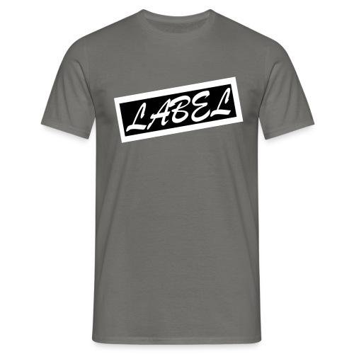 LABEL - Inverted Design - Men's T-Shirt