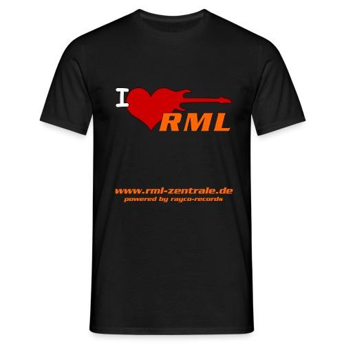 I love RML cup png - Männer T-Shirt