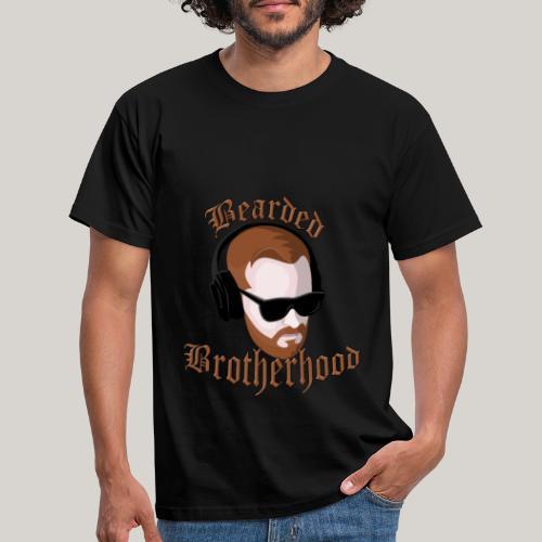 The Bearded Brotherhood w/ Text - Men's T-Shirt