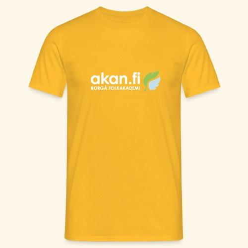 Akan White - T-shirt herr