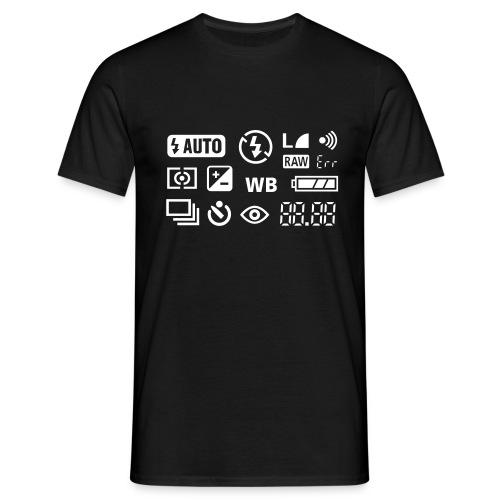 Fotograf - Männer T-Shirt
