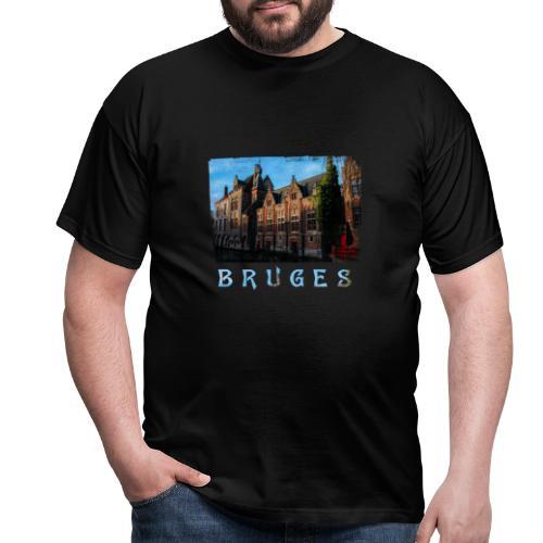 Bruges | Old houses - Mannen T-shirt