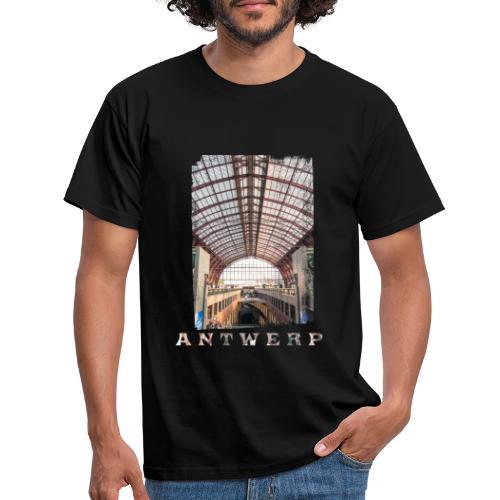 Antwerpen | Centraal Station - Mannen T-shirt