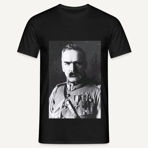 Pilsudski duży 4 - Koszulka męska