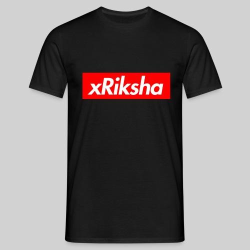 xRiksha - Box logo - Miesten t-paita