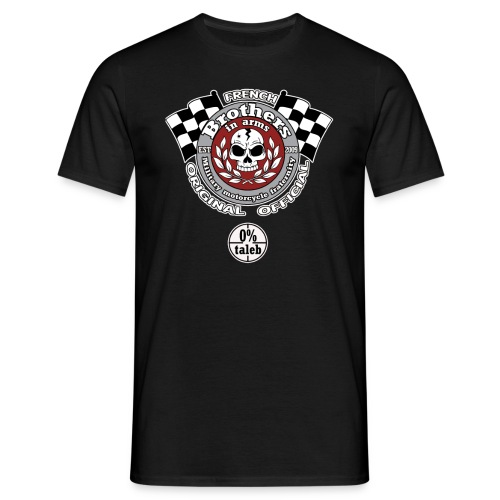 rond rouge png - T-shirt Homme