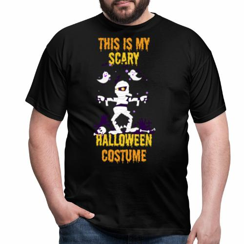 Scary Halloween Costume - Men's T-Shirt