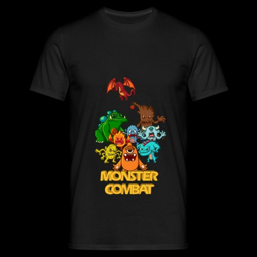 MONSTER COMBAT png - Männer T-Shirt