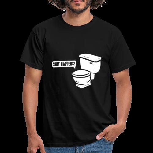 T-shirt, Shit happens - T-shirt herr