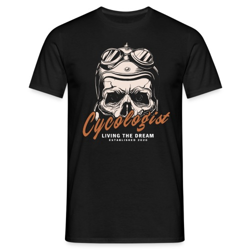 Cycologist - Männer T-Shirt