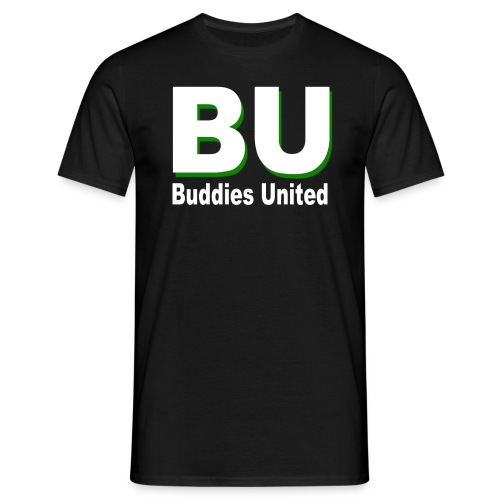 BU - Buddies United - Männer T-Shirt