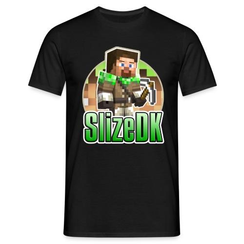 SlizeDK-logo_Large - Herre-T-shirt