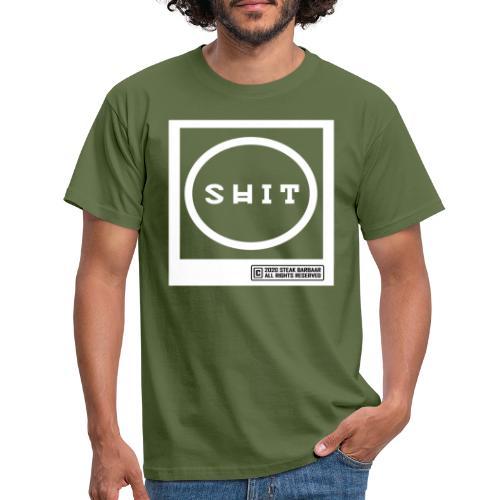 o shit - Mannen T-shirt