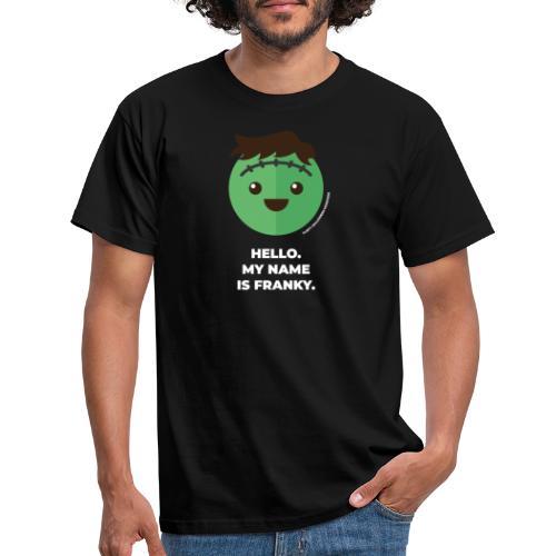 Frankenstein - Halloween Flirt Monster - Männer T-Shirt