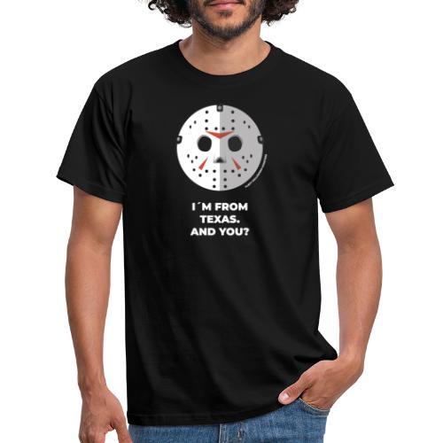 Jason Texas Chainsaw - Halloween Flirt Monster - Männer T-Shirt