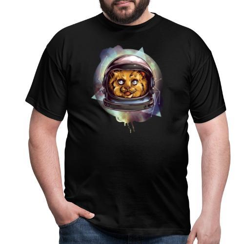 Cute astronaut kitten - Men's T-Shirt