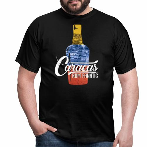 T-shirt Rum Fanatic - Caracas, Wenezuela - Koszulka męska