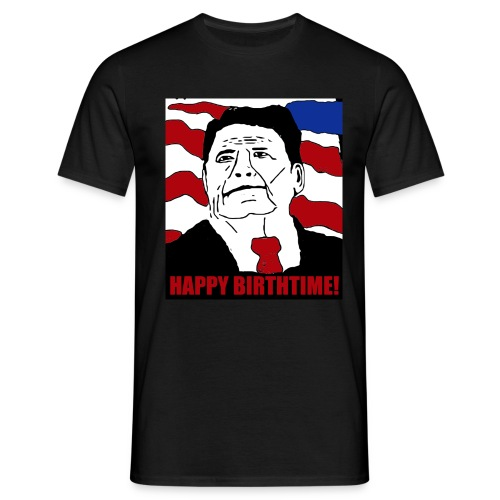 Reagan Cakeface - Men's T-Shirt