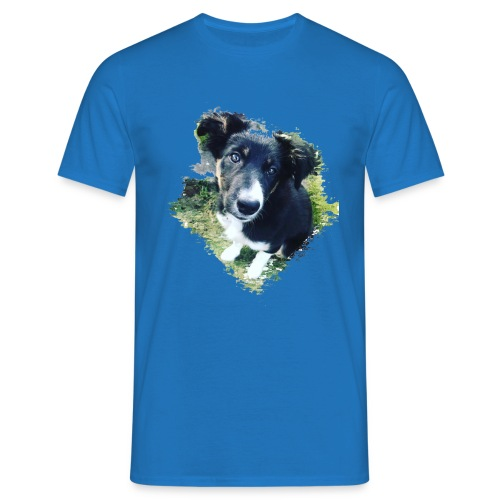 colliegermanshepherdpup - Men's T-Shirt