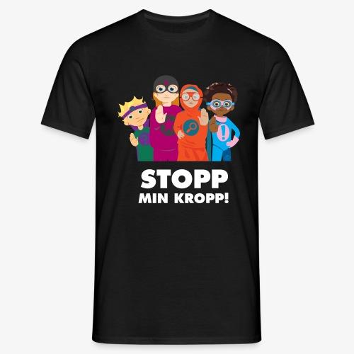 Stopp min kropp! - T-shirt herr