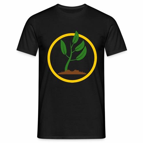 Setzlingemblem - Männer T-Shirt