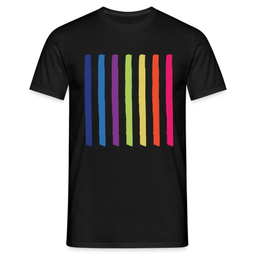 Linjer - Herre-T-shirt