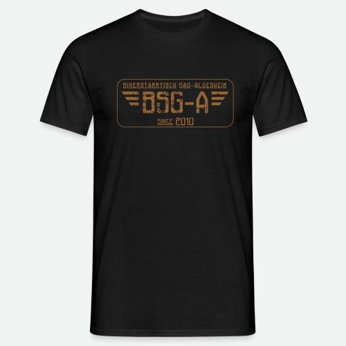 BSG A transparent png - Männer T-Shirt