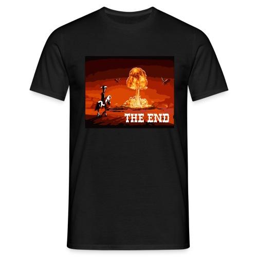 THE END (version 2 : pour toute couleur de fond) - T-shirt Homme