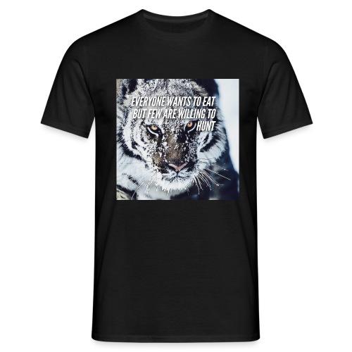 Eat Hunt - Mannen T-shirt