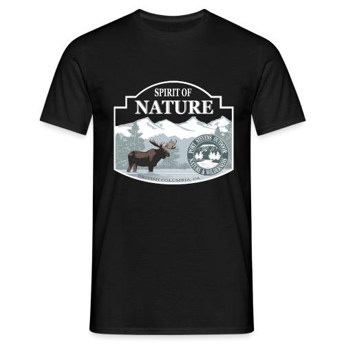 029 Elk British Columbia png - Männer T-Shirt