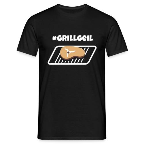 Grillgeil Steak - Männer T-Shirt