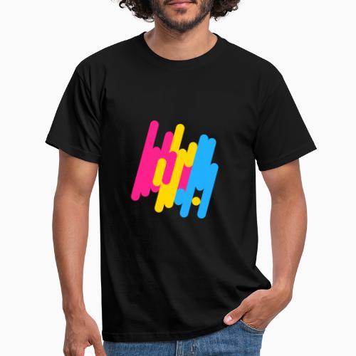 Abstract Panic Design! - Men's T-Shirt