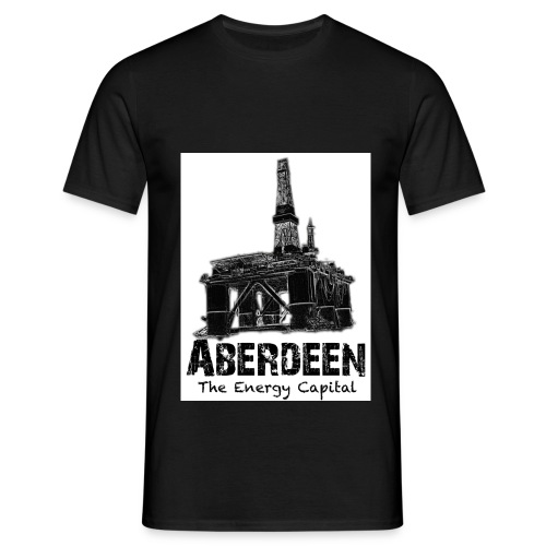 Aberdeen Energy Capital - Men's T-Shirt
