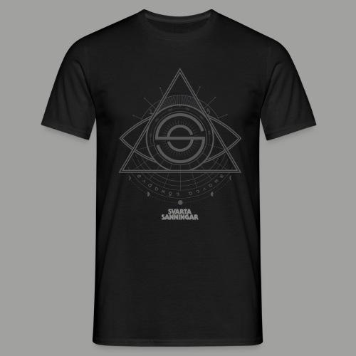 Dracunit symbol2 grey white - T-shirt herr