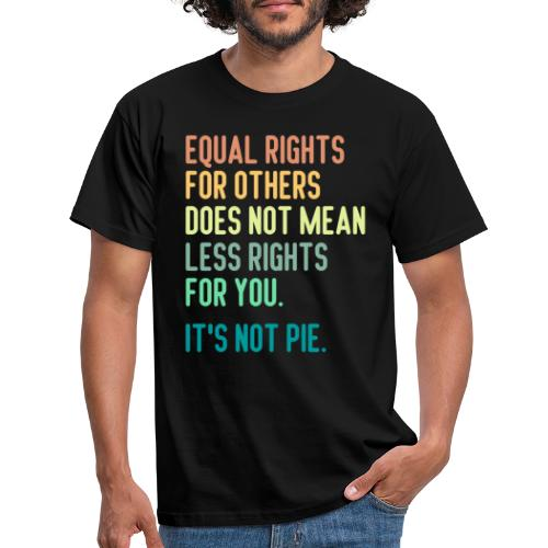Equal Rights For Others - T-shirt herr
