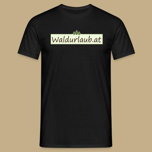 Waldurlaub - Männer T-Shirt