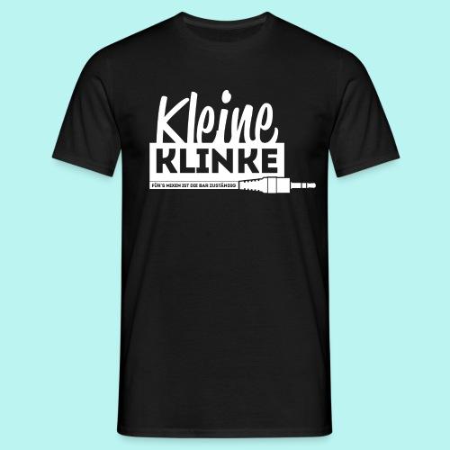 Kleine Klinke Logo White - Männer T-Shirt