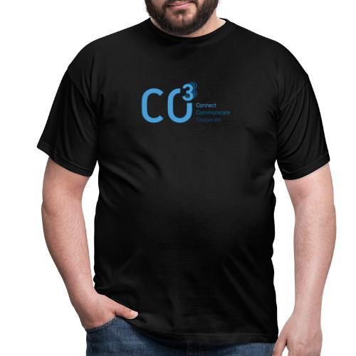 logo CO3 rgb 01 blue - Men's T-Shirt