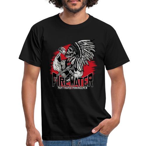 Firewater - Trinkingcrew - Männer T-Shirt